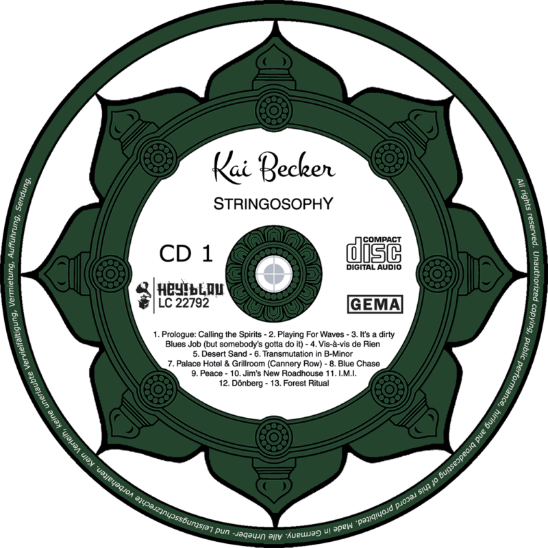 Kai Becker - Stringosophy - CD 1